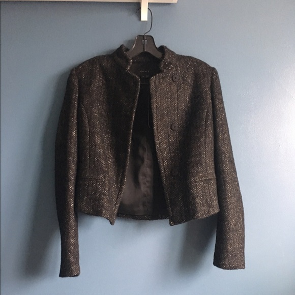 e30f81e28e Theory Jackets & Coats   Price Dropped Nwt Tweed Cropped Jacket ...